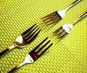 Tenedores encontrados