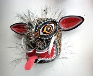 Máscara Jabalí